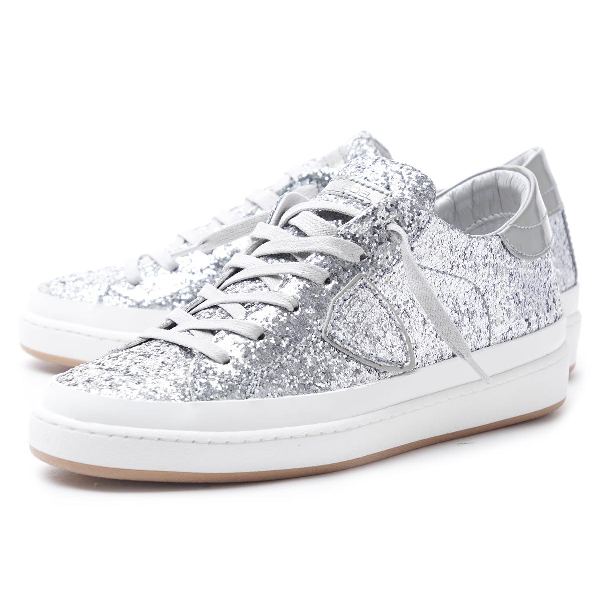 Philippe model Paris glitter sneakers 5SvqgzTyA1