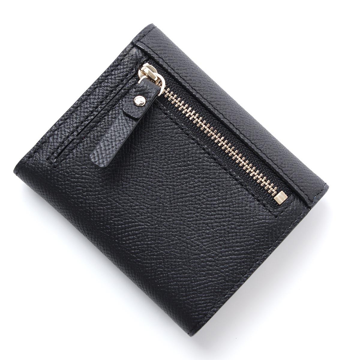 有凯特黑桃Kate Spade 3个机会钱包硬币袋的MORRIS LANE JADA LEATHER BLACK×CEMENT黑色派jada pwru5558 067女士