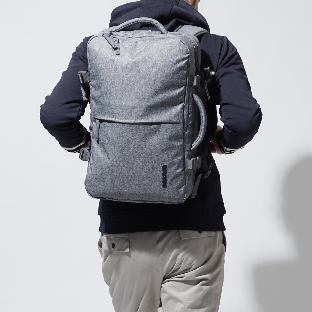ab0db3b413 In case INCASE backpack rucksack EO TRAVEL BACKPACK HEATHERGREY gray system  cl90020 men