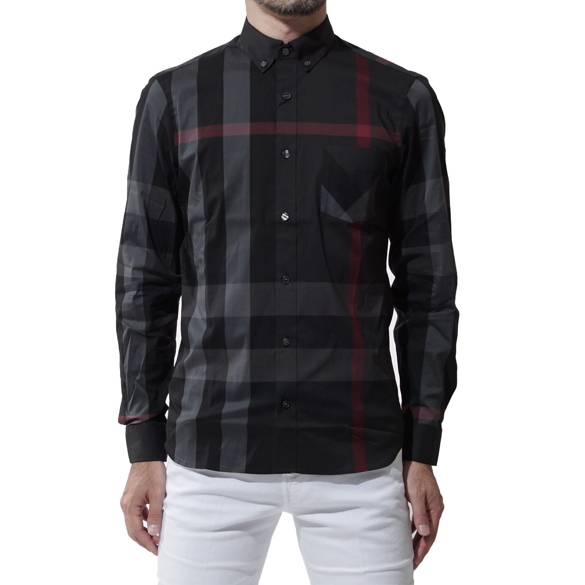 burberry guy shirt