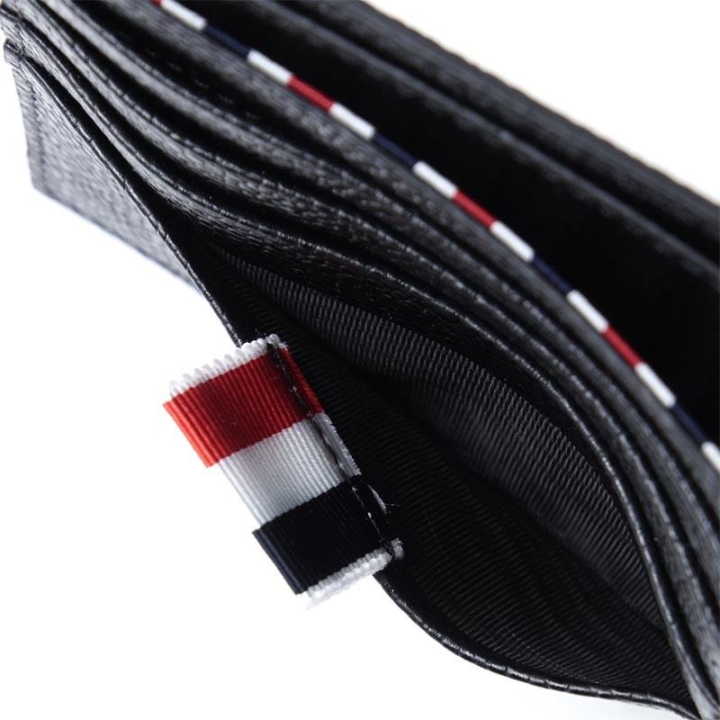 a9d4f4ef43 ... Tom Browne THOM BROWNE. Folio wallet black men wallet leather gift  present studs car navigation