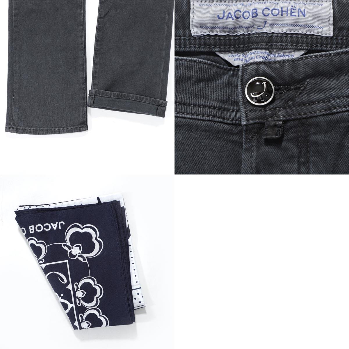 Jacob Cohen JACOB COHEN button fried food jeans men denim 5 pocket j622 05406 990 J622 COMFORT