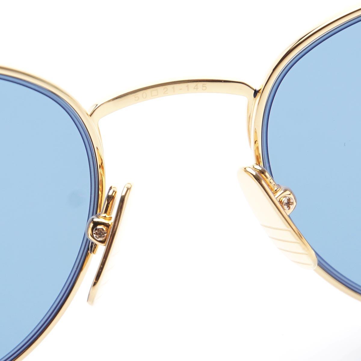 224b0abc59 Tom Browne THOM BROWNE. Sunglasses blue men design fashion resort celebrity  beach vacation gift present tb 106 c nvy gld 50 Oval