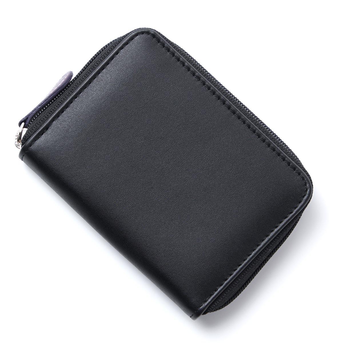 エッティンガー ETTINGER コインケース ブラック メンズ 財布 ウォレット ギフト プレゼント st2050jr purple black ロイヤルコレクション/パープルコレクション【ラッピング無料】【返品送料無料】【171128】【あす楽対応_関東】