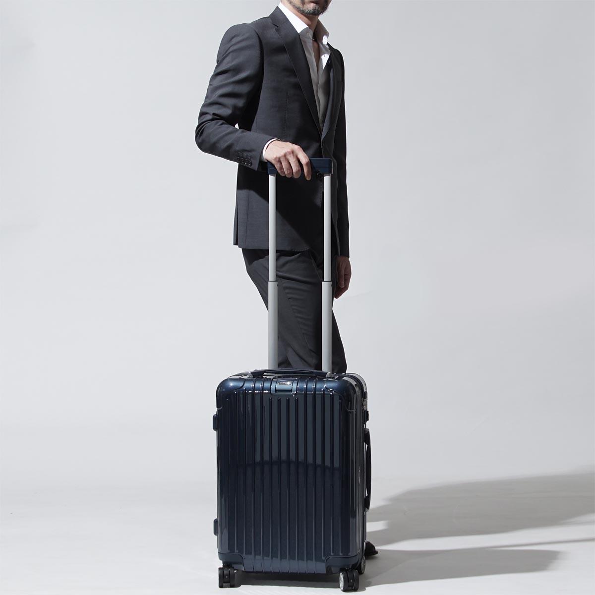 52ee63711228 リモワ RIMOWA スーツケース キャリーケース ブルー メンズ レディース 旅行 トラベル 出張 ビジネストローリー 831.53.12.4  SALSA DELUXE CABIN 53 MULTIWHEEL 37L ...