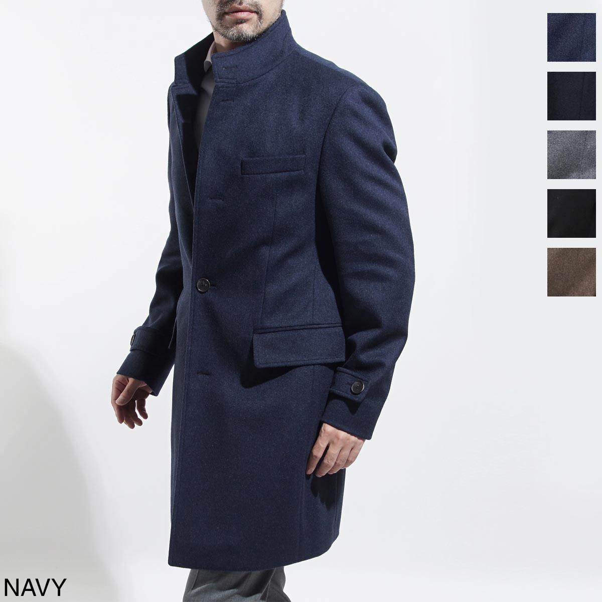 ボスヒューゴボス BOSS HUGOBOSS ステンカラ― コート メンズ コート アウター 防寒着 sintrax 50394076 473 BLACK SINTRAX ブラック【ラッピング無料】【返品送料無料】【180928】【あす楽対応_関東】