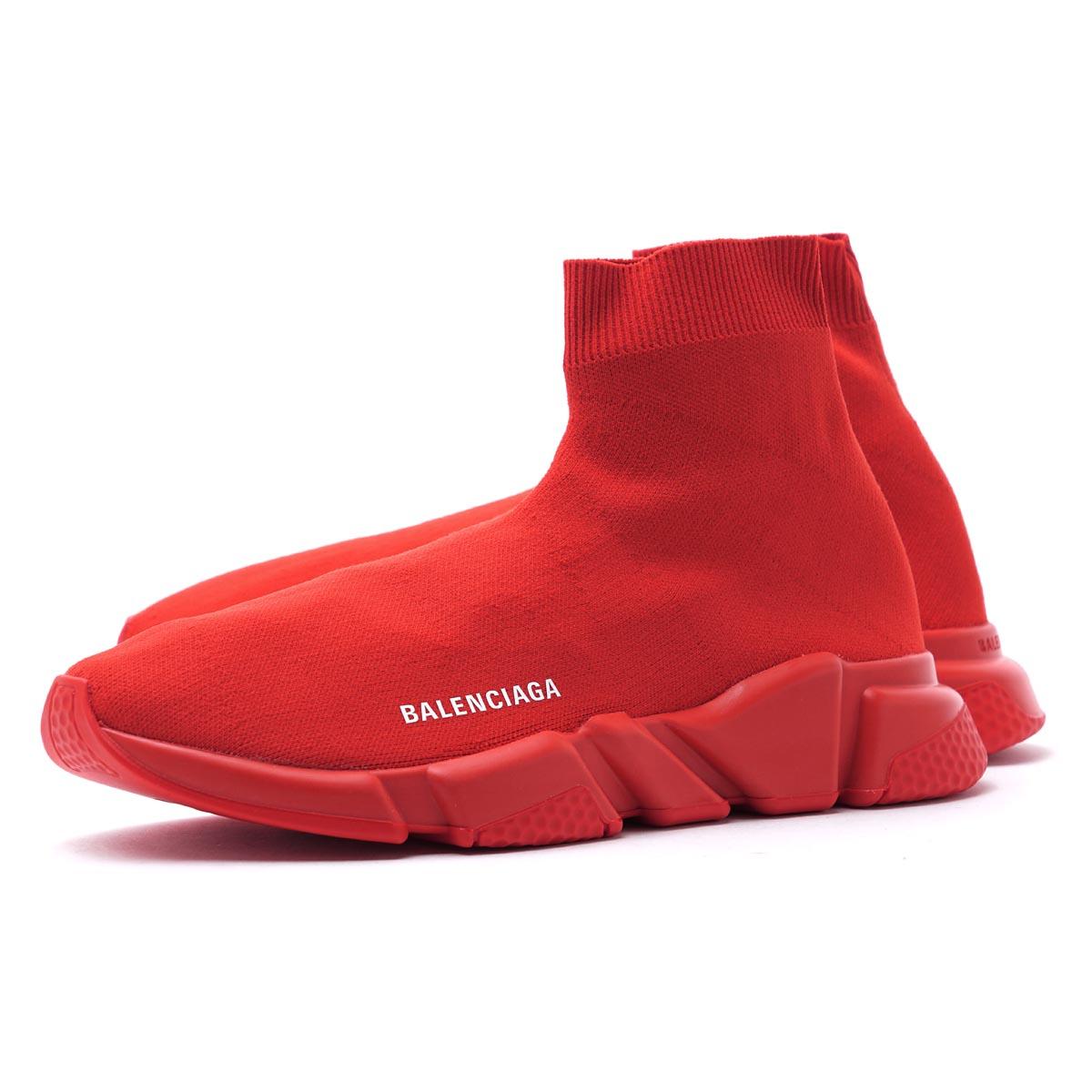 バレンシアガ BALENCIAGA スピード トレーナー スニーカー レッド メンズ シューズ 靴 ファブリック 530353 w05g0 6501 SNEAKER TESS MAILLE【ラッピング無料】【返品送料無料】【あす楽対応_関東】