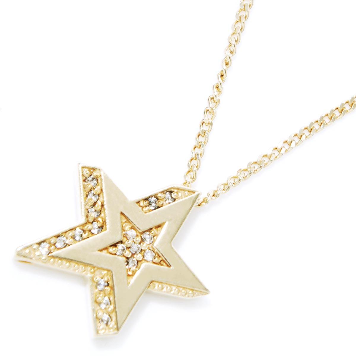 ガーデル GARDEL ネックレス 指輪 メンズ レディース アクセサリー ジュエリー ギフト プレゼント gdp095 k18yg dia STAR RIGHT【返品交換不可】【ラッピング無料】【181201】