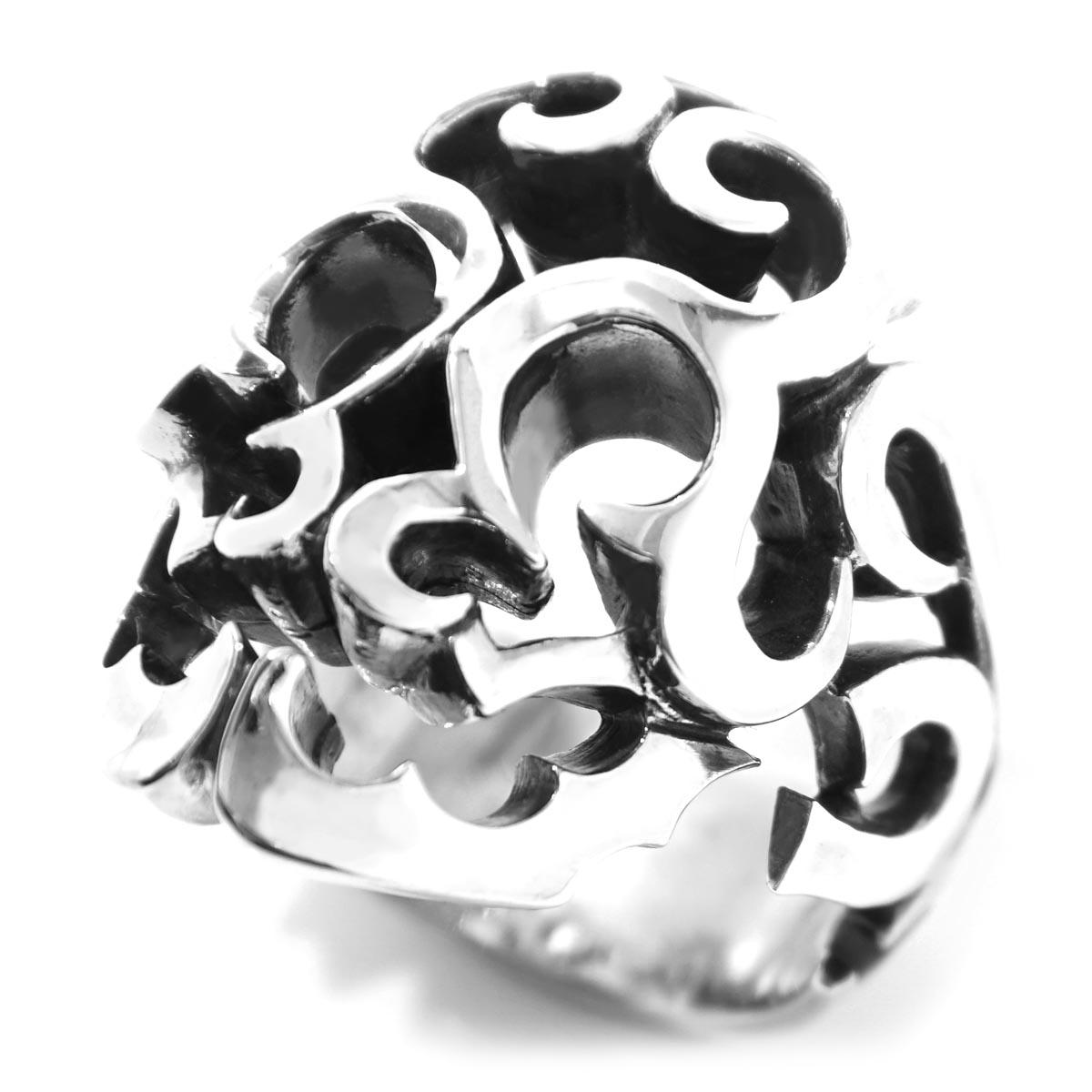 ガーデル GARDEL リング 指輪 シルバー メンズ アクセサリー ジュエリー ギフト プレゼント gdr037 SURVIVE SKULL RING【返品交換不可】【ラッピング無料】【181201】