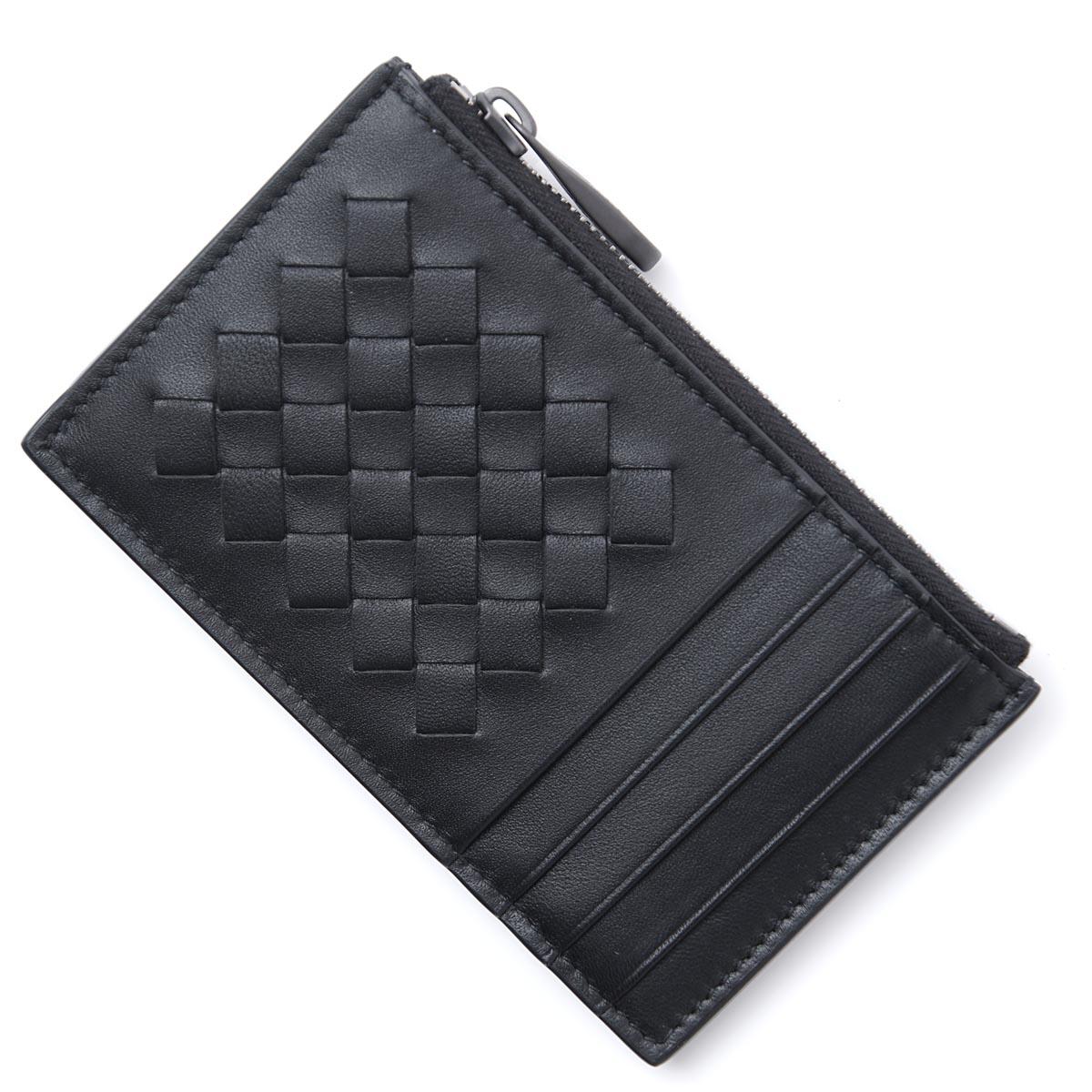 ボッテガヴェネタ BOTTEGA VENETA カードケース ブラック メンズ 財布 ウォレット ギフト プレゼント 543646 v1eed 1000 NAPPA ナッパ【ラッピング無料】【返品送料無料】【181128】【あす楽対応_関東】