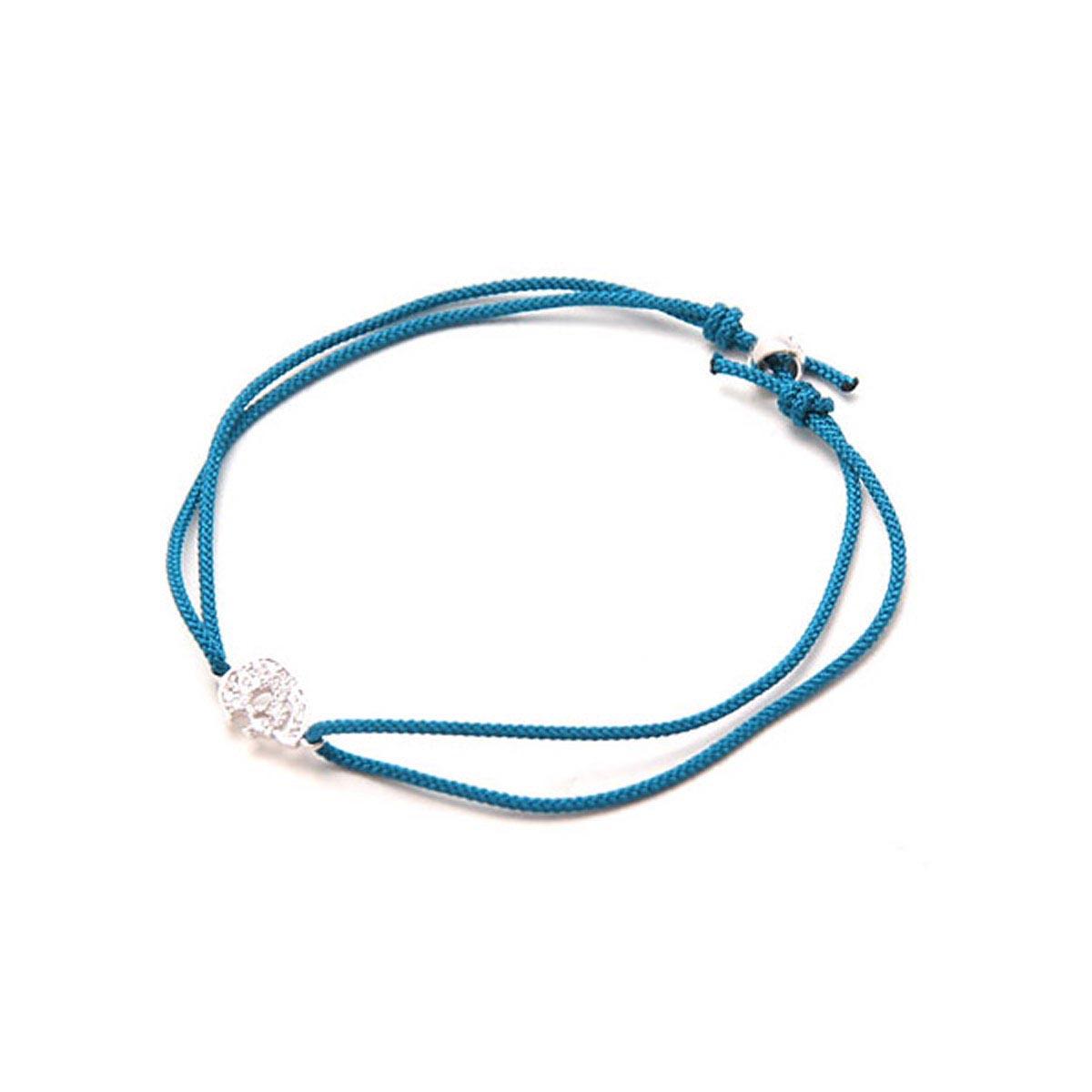 ガーデル GARDEL アンクレット ブレスレット ブルー メンズ レディース ギフト プレゼント 青 gda001s sv cz blue【返品交換不可】【ラッピング無料】【190116】