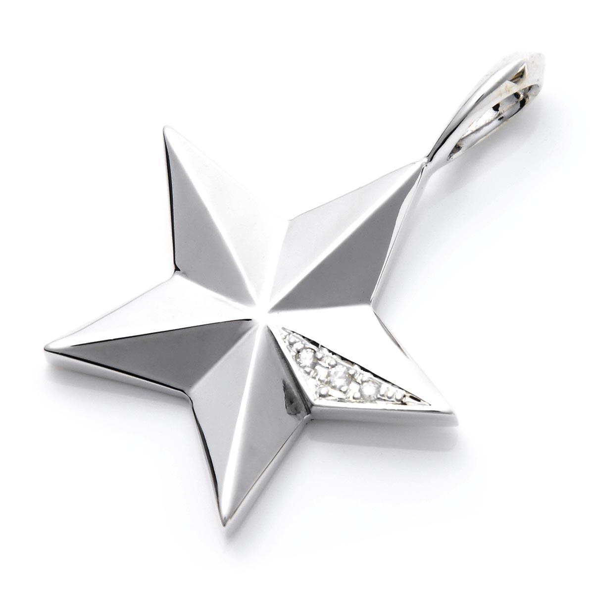 ガーデル GARDEL ペンダント シルバー メンズ レディース アクセサリ ギフト プレゼント クリスマス クリスマスプレゼント gdp 122 silver dia CLASSIC STAR PENDANT【返品交換不可】【ラッピング無料】【190116】