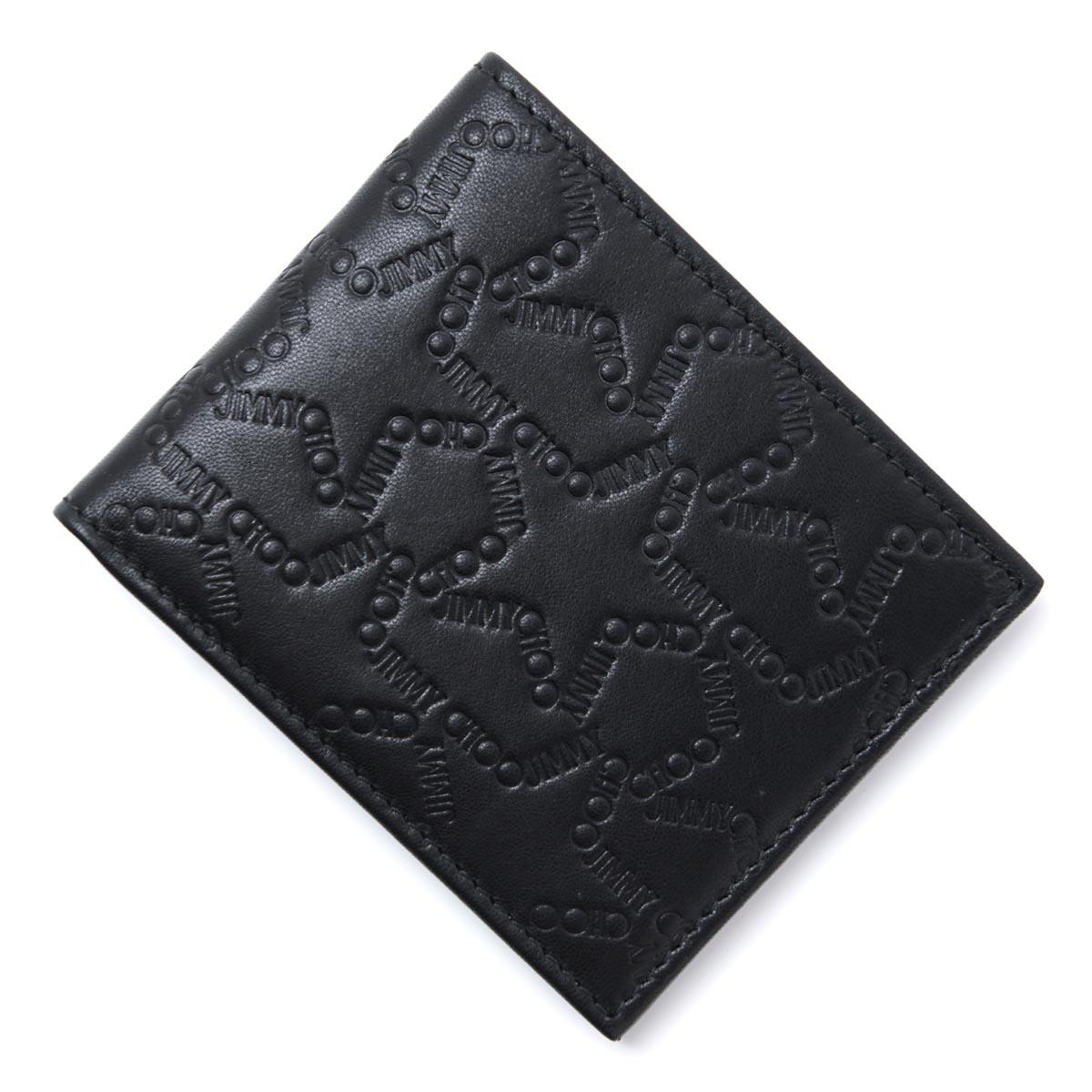 ジミーチュウ JIMMY CHOO 2つ折り 財布 ブラック メンズ ウォレット ギフト プレゼント mark ejl black MARK マーク【ラッピング無料】【返品送料無料】 htjc【181224】【あす楽対応_関東】