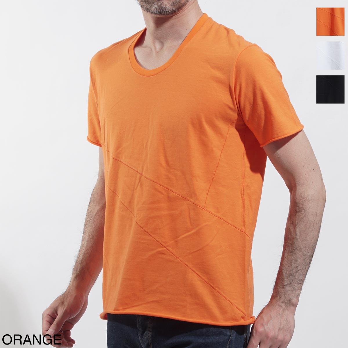 【アウトレット】ジョルジオブラット GIORGIO BRATO クルーネック Tシャツ メンズ カットソー カジュアル インナー カラーTシャツ tx19s802 orange【返品送料無料】【ラッピング無料】