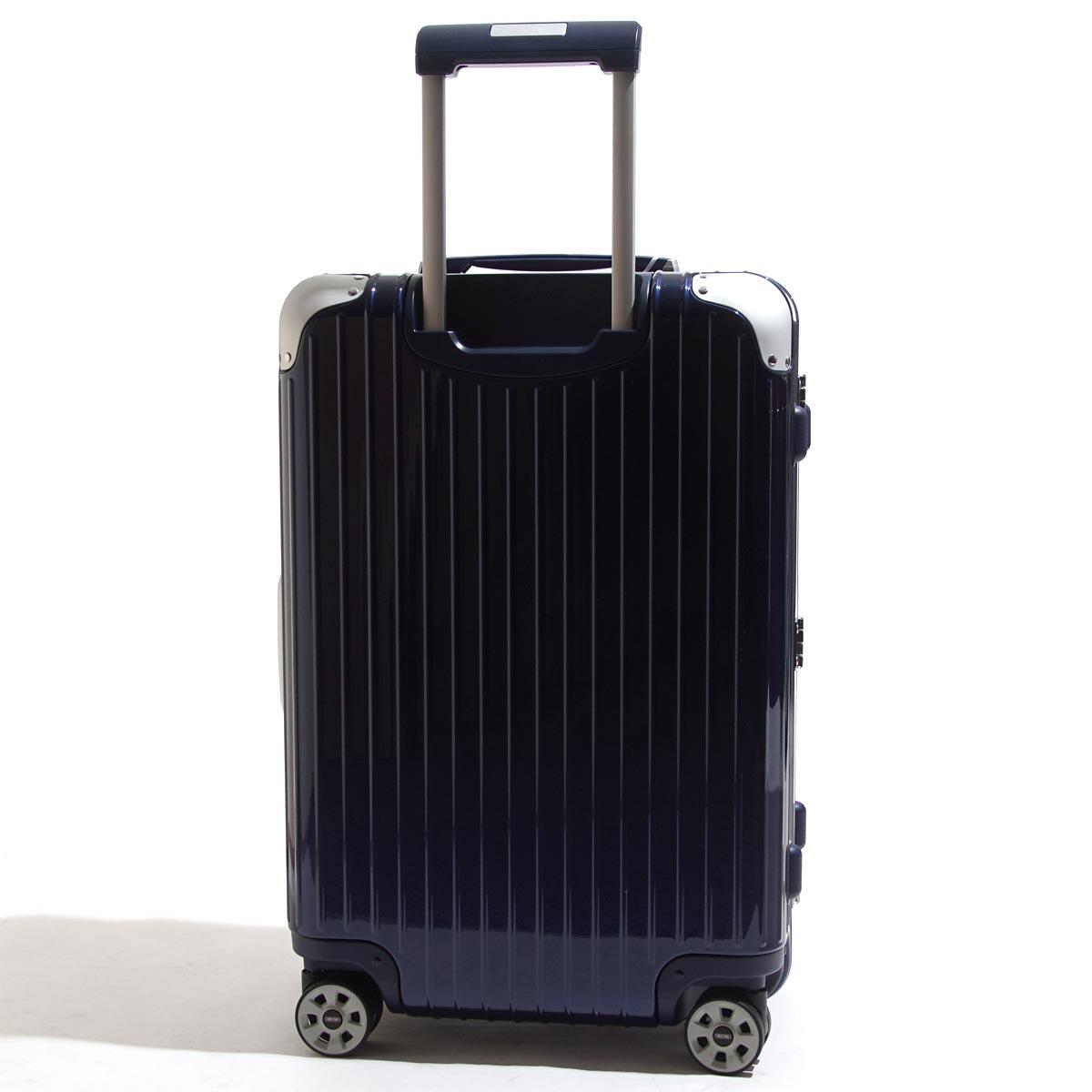 リモワ RIMOWA スーツケース 電子タグ仕様 キャリーケース ブルー メンズ レディース 旅行 出張 トラベル 大容量 882.63.21.5 LIMBO 63 E-TAG リンボ 60L【返品】【ラッピング無料】【190205】
