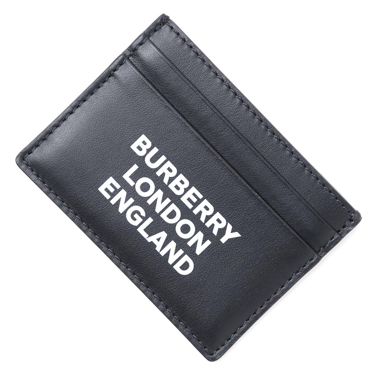 【アウトレット】バーバリー BURBERRY カードケース ブラック メンズ カード ギフト プレゼント 8009213 black SANDIN PB0【あす楽対応_関東】【返品送料無料】【ラッピング無料】[outnew]