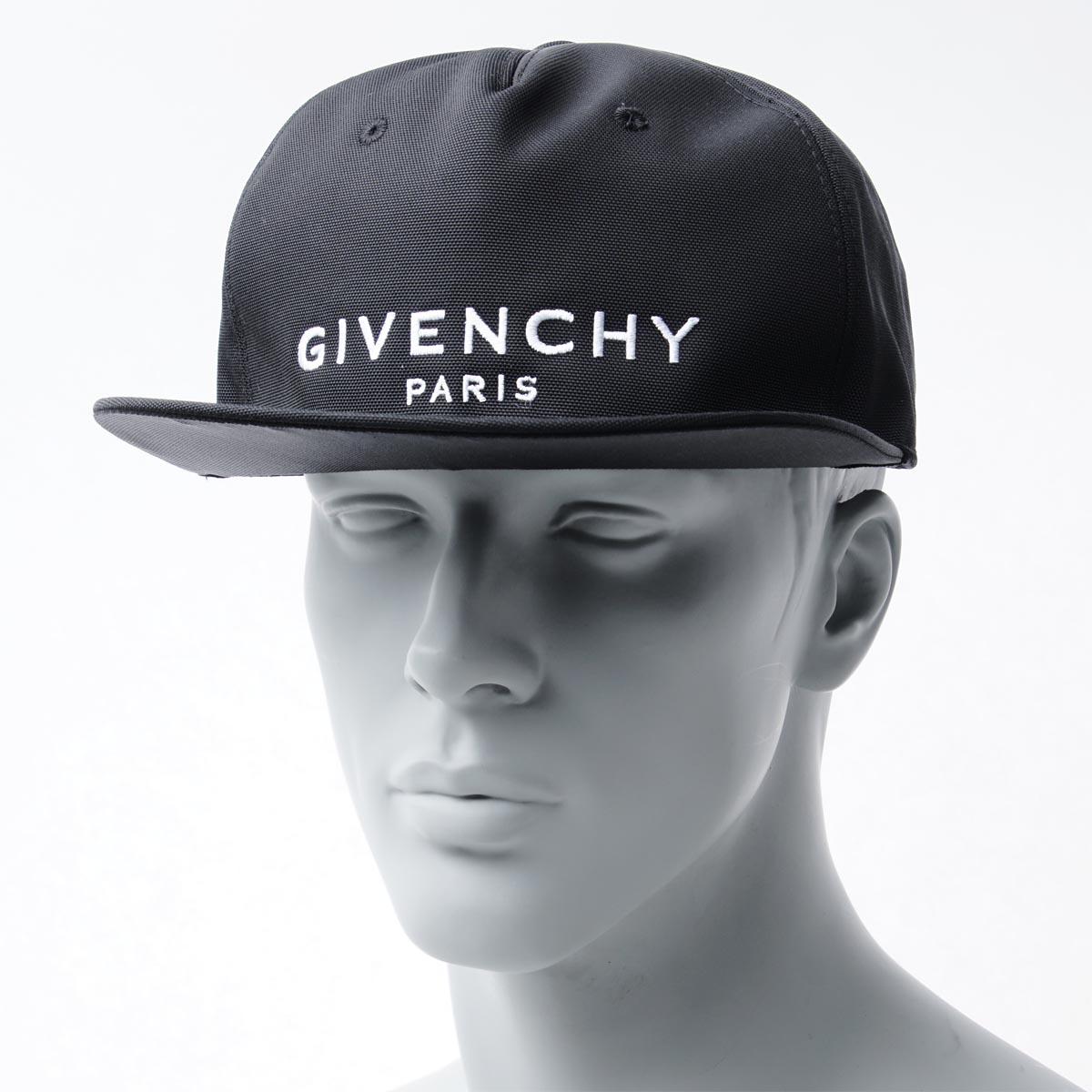 ジバンシー GIVENCHY ベースボールキャップ ブラック メンズ 帽子 スポーツ 野球 カジュアル bpz001k0ce 001 CAP FLAT PEAK【あす楽対応_関東】【返品送料無料】【ラッピング無料】