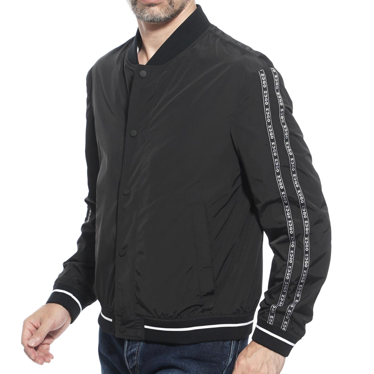 3e55bf697 Boss Hugo Boss BOSS HUGOBOSS Bonn bar jacket nylon blouson black men outer  sports active boris 50410114 001 HUGO HUGO BOSS BORIS SLIM FIT slim fitting