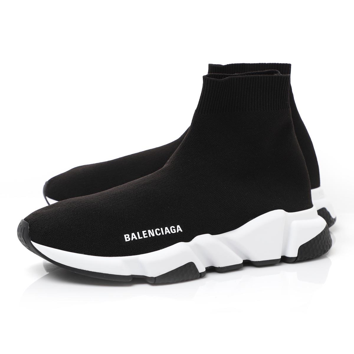 バレンシアガ BALENCIAGA スニーカー ブラック メンズ シューズ 靴 カジュアル 大きいサイズあり 530349 w05g9 1000 SPEED TRAINER スピードトレーナー【あす楽対応_関東】【返品送料無料】【ラッピング無料】