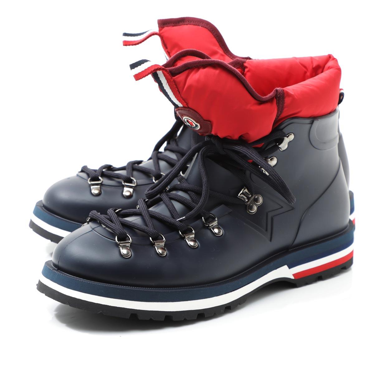 モンクレール MONCLER レインブーツ ブルー メンズ カジュアル 雨靴 撥水 防水 大きいサイズあり henoc 1034500 019z2 779 HENOC SCARPA【あす楽対応_関東】【返品送料無料】【ラッピング無料】