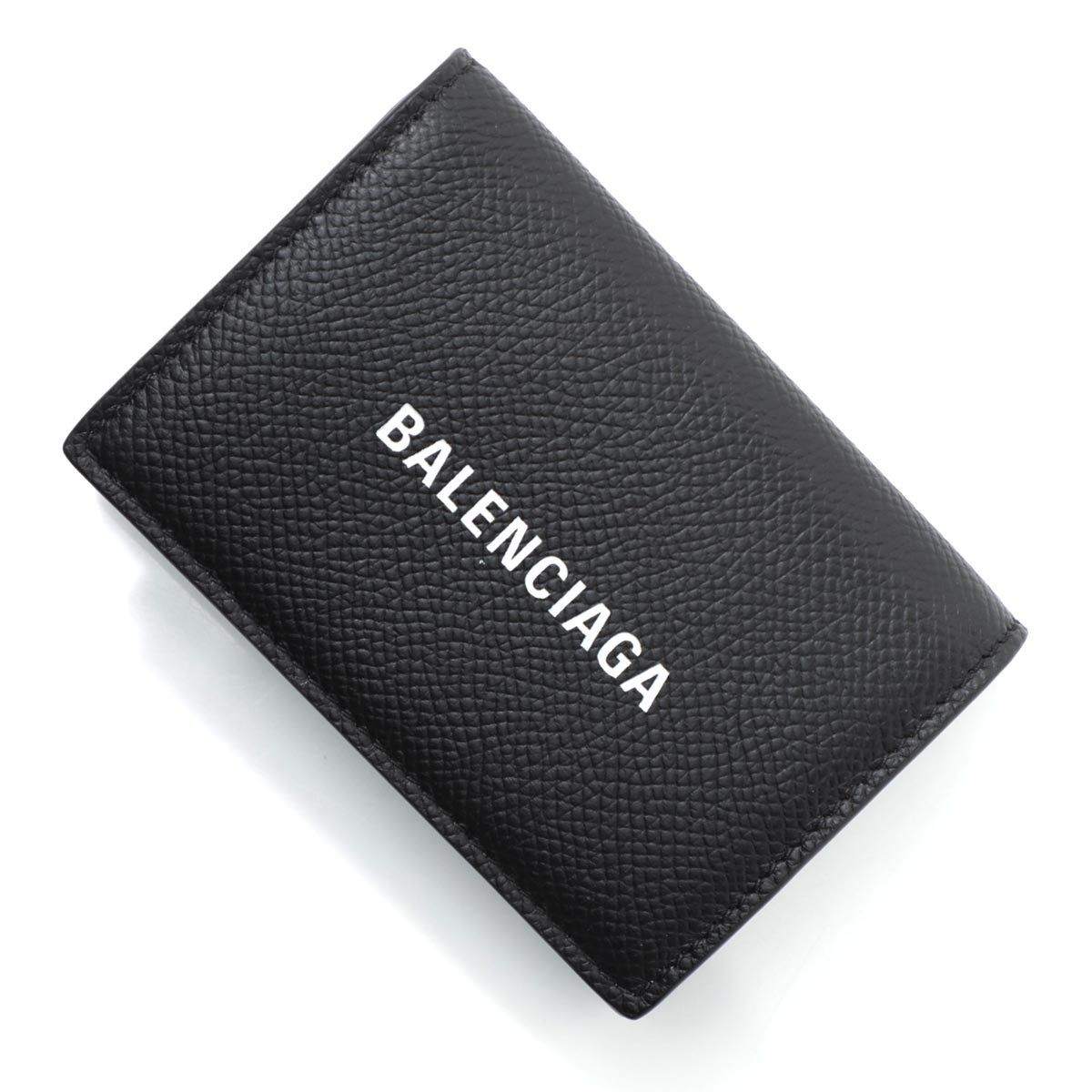 バレンシアガ BALENCIAGA 3つ折り 財布 小銭入れ付き ブラック メンズ ウォレット ギフト プレゼント 594312 0otv3 1090 CASH MINI WALLET【あす楽対応_関東】【返品送料無料】【ラッピング無料】