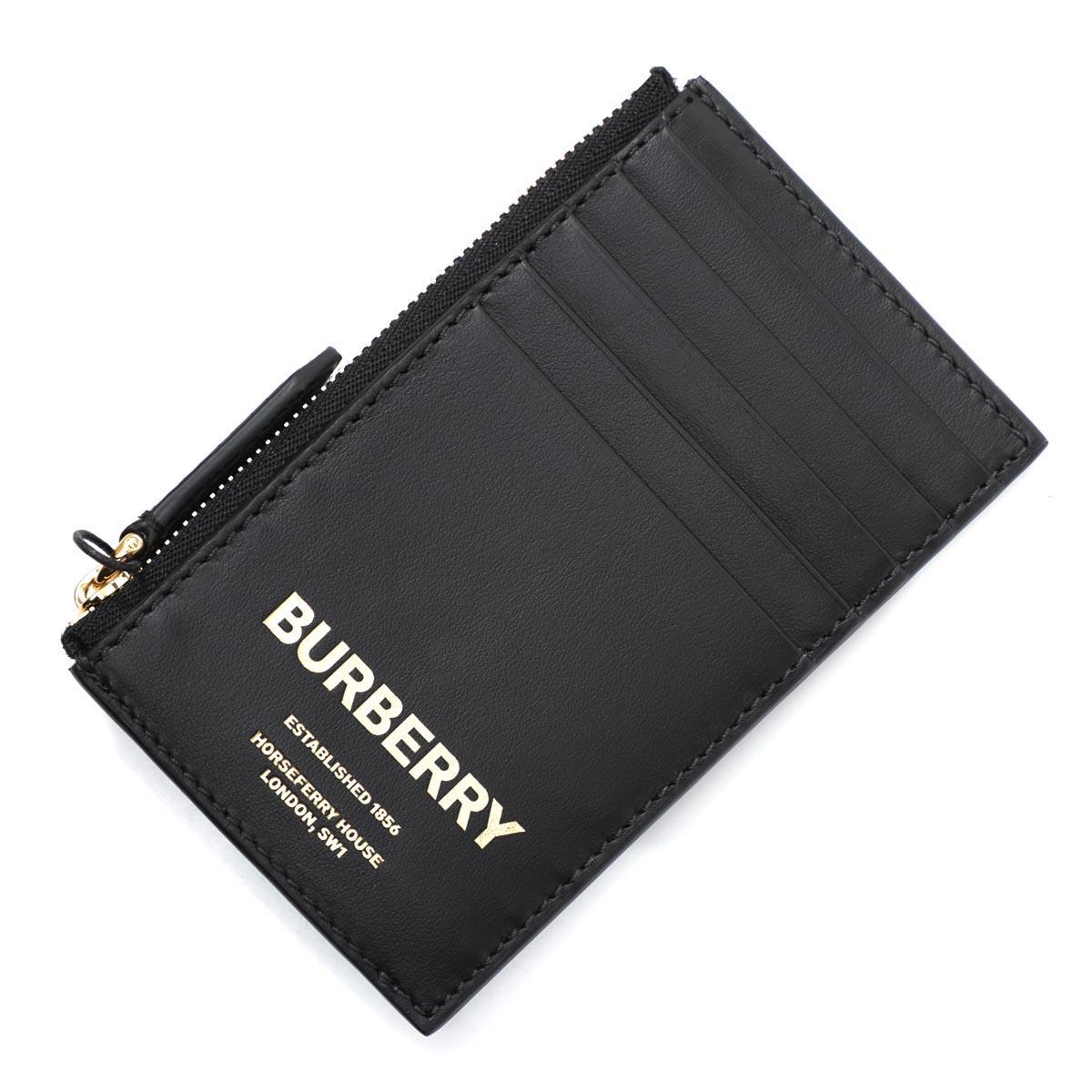 バーバリー BURBERRY カードケース ブラック メンズ 8014706 black ALWYN PRINT BBY ESTABLISH LEATHER【あす楽対応_関東】【返品送料無料】【ラッピング無料】