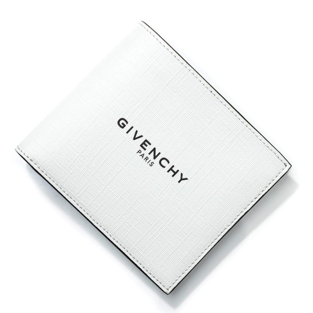 ジバンシー GIVENCHY 2つ折り財布 ホワイト メンズ ギフト プレゼント bk6005k0n2 100【あす楽対応_関東】【返品送料無料】【ラッピング無料】