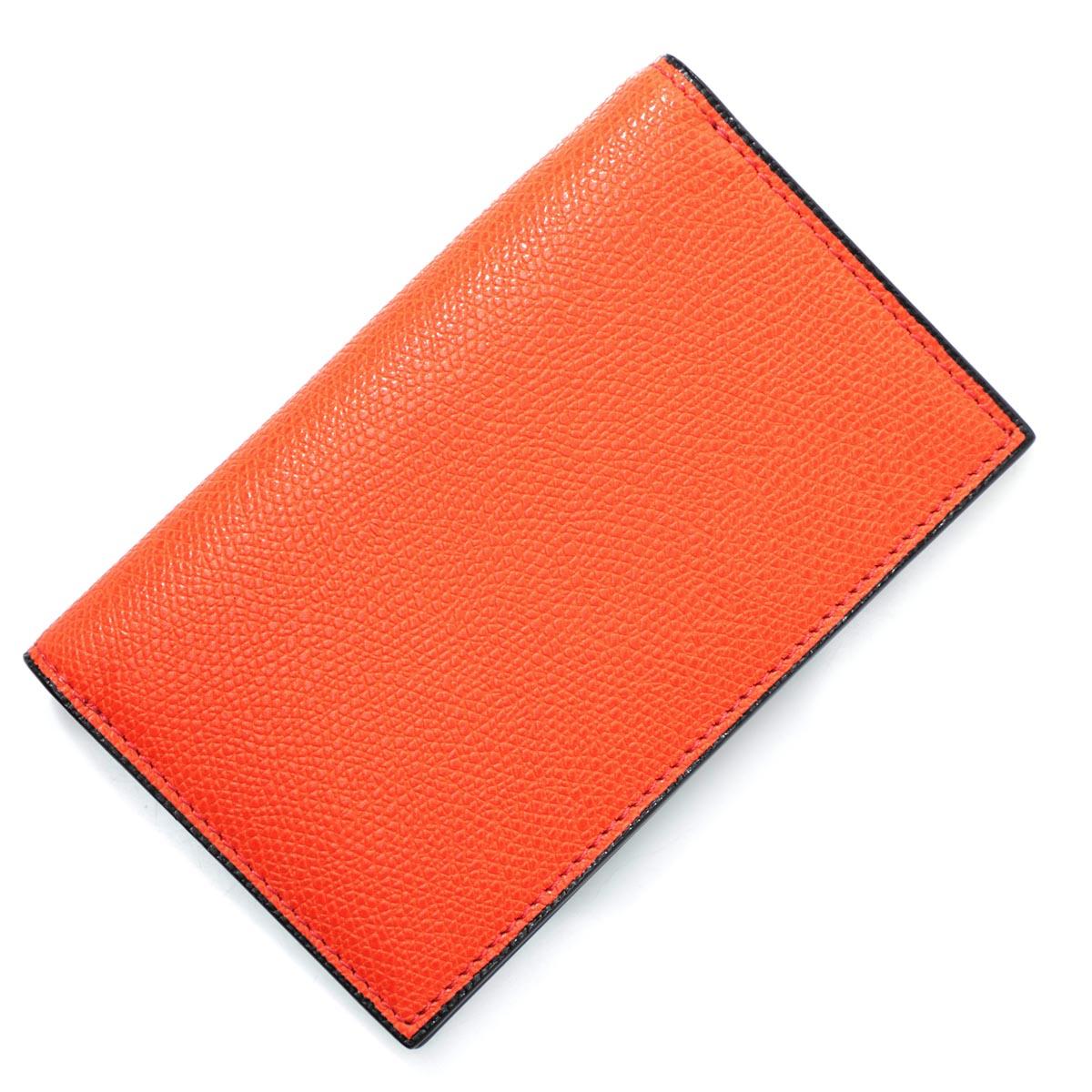 ヴァレクストラ Valextra キーケース カードケース オレンジ メンズ レディース ギフト プレゼント レザー v1l20 28 arn【_関東】【返品送料無料】【ラッピング無料】