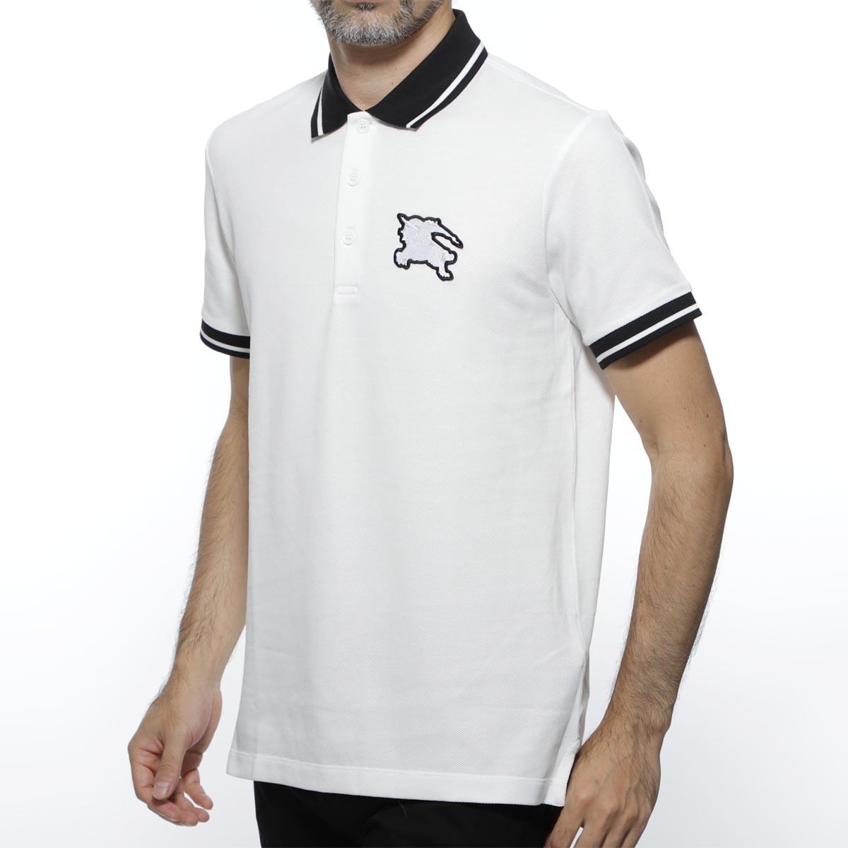 【アウトレット】バーバリー BURBERRY ポロシャツ ホワイト メンズ カジュアル トップス インナー スポーツ ゴルフ 8005285 white BOEDON【あす楽対応_関東】【返品送料無料】【ラッピング無料】