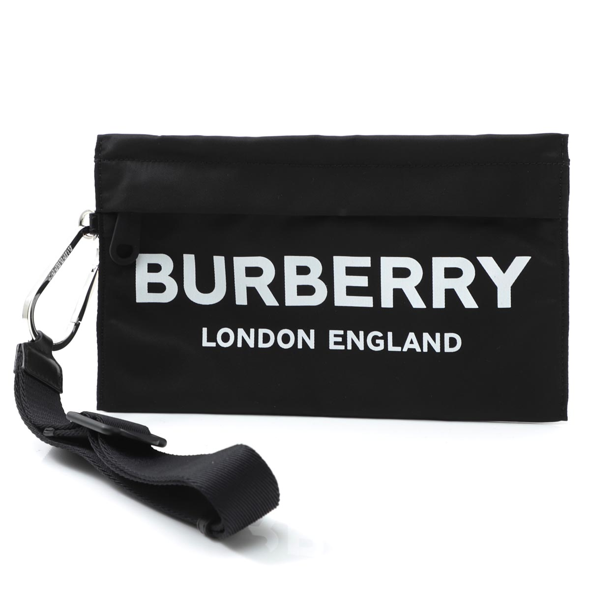 【アウトレット】バーバリー BURBERRY ポーチ ブラック レディース ギフト プレゼント 8015042 black【あす楽対応_関東】【返品送料無料】【ラッピング無料】