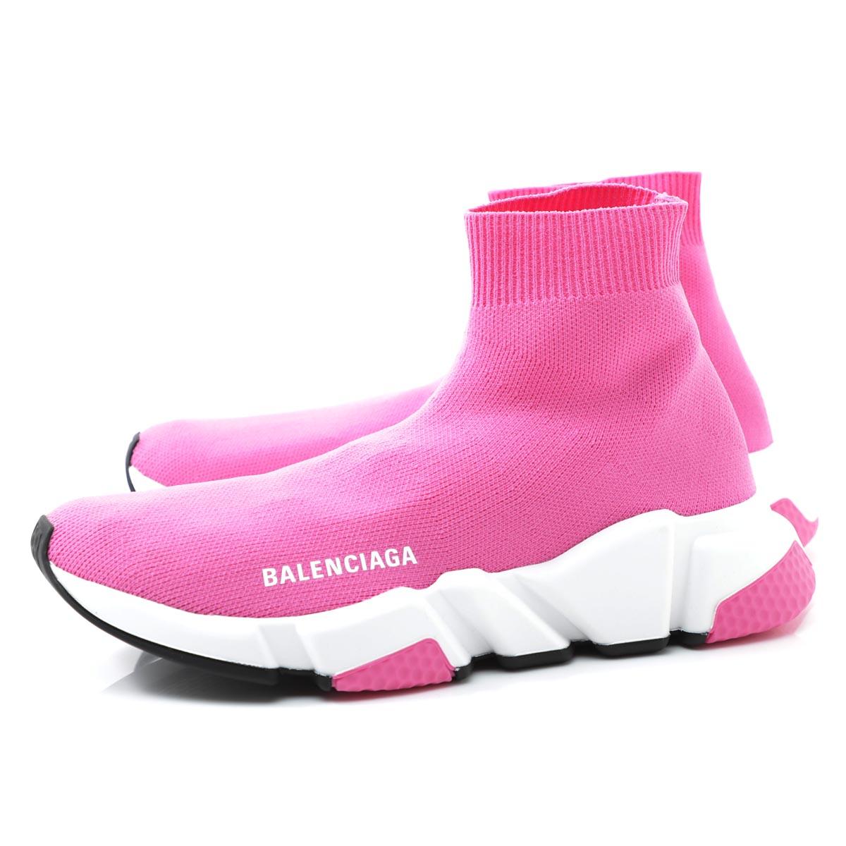 バレンシアガ BALENCIAGA スニーカー ピンク レディース カジュアル 大きいサイズあり 587280 w1721 5000 SPEED TRAINER スピードトレーナー【あす楽対応_関東】【返品送料無料】【ラッピング無料】