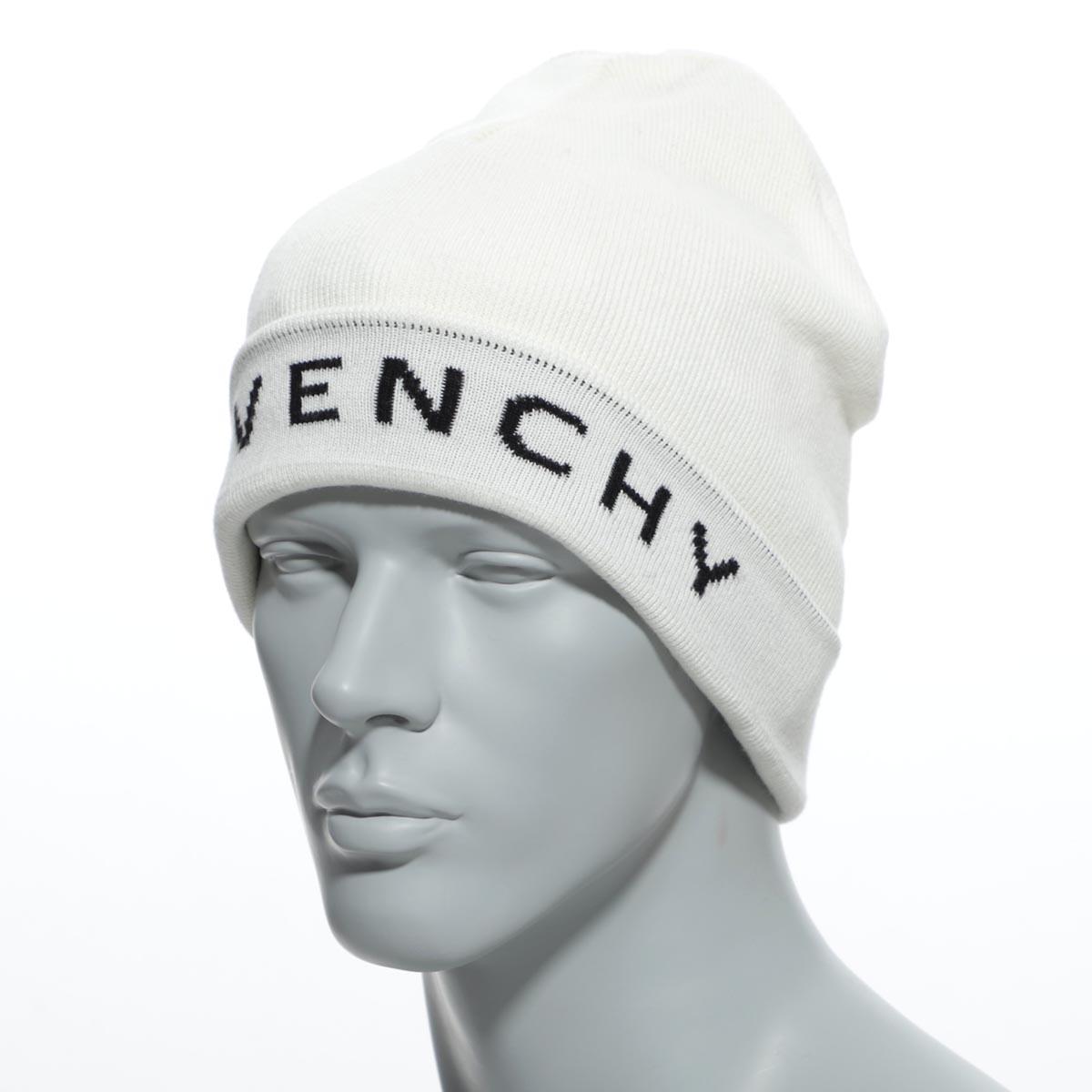【送料無料】ジバンシー GIVENCHY ニットキャップ ジバンシー GIVENCHY ニットキャップ ホワイト メンズ ギフト プレゼント 帽子 gvcapp u1588 7【あす楽対応_関東】【返品送料無料】【ラッピング無料】