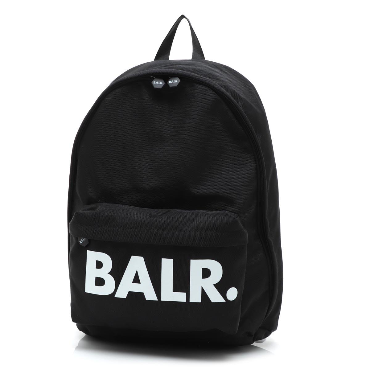 ボーラ― BALR. バックパック リュック ブラック メンズ ギフト プレゼント u series classic backpack black【あす楽対応_関東】【返品送料無料】【ラッピング無料】