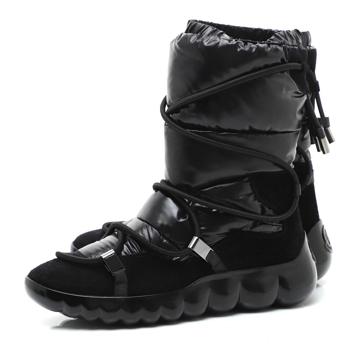 【アウトレット】モンクレール MONCLER ブーツ ショートブーツ ブラック レディース cora 2056000 01akm 999 CORA STIVALE【あす楽対応_関東】【返品送料無料】【ラッピング無料】