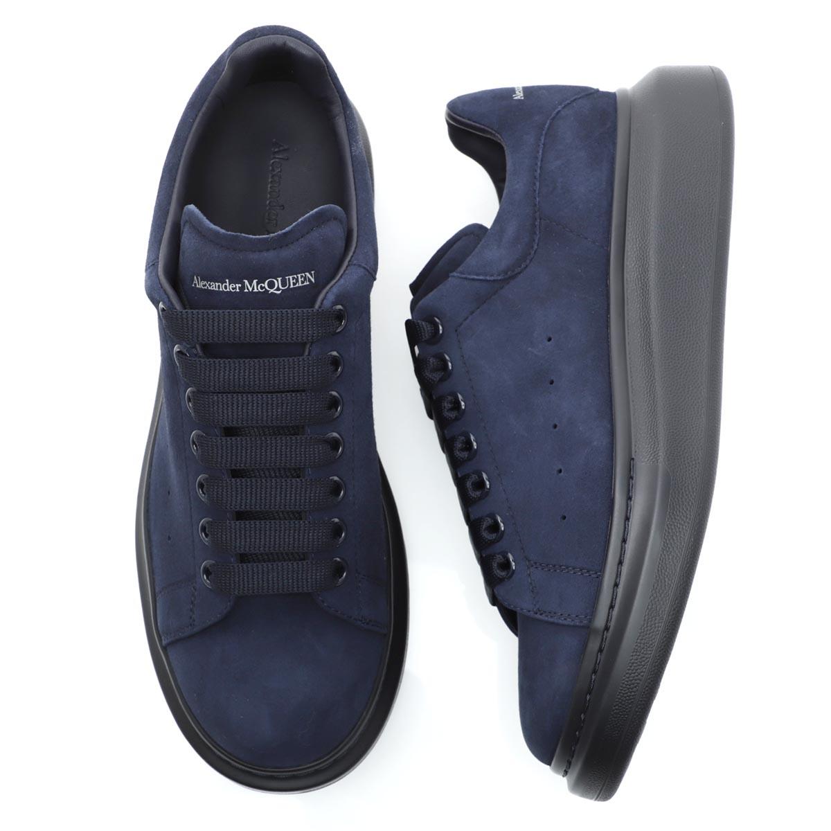 アレキサンダーマックイーン ALEXANDER McQUEEN スニーカー ブルー メンズ シューズ 靴 カジュアル 大きいサイズあり 553761 whv67 4088 DAIM【あす楽対応_関東】【返品送料無料】【ラッピング無料】