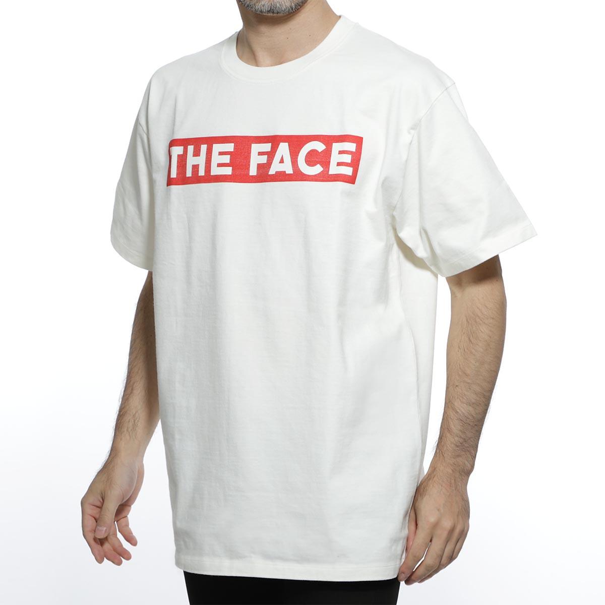 【アウトレット】グッチ GUCCI クルーネック Tシャツ ホワイト メンズ カジュアル トップス インナー 565806 xjbcs 9577 The Face OVERSIZE T-SHIRT【あす楽対応_関東】【返品送料無料】【ラッピング無料】