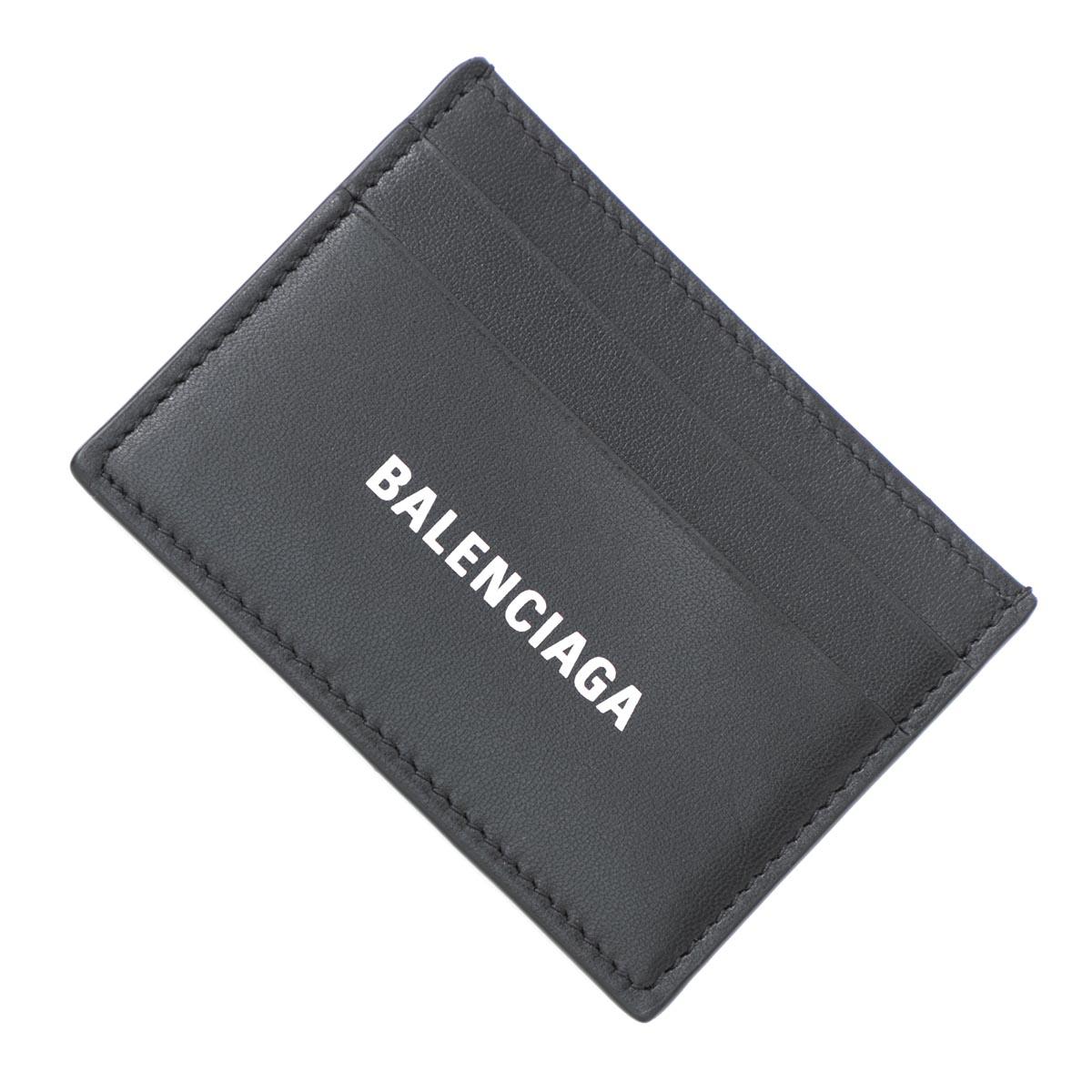 バレンシアガ BALENCIAGA カードケース ブラック メンズ ギフト プレゼント レザー 本革 594309 1i313 1090【あす楽対応_関東】【返品送料無料】【ラッピング無料】