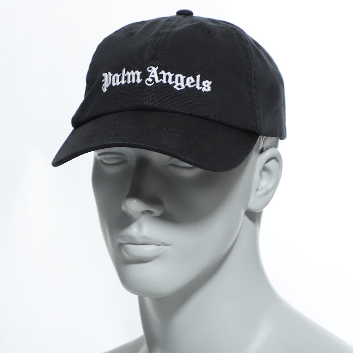 パーム エンジェルス PALM ANGELS キャップ ブラック メンズ コットン 綿 帽子 pmlb003r20224001 1001 CLASSIC LOGO CAP【あす楽対応_関東】【返品送料無料】【ラッピング無料】