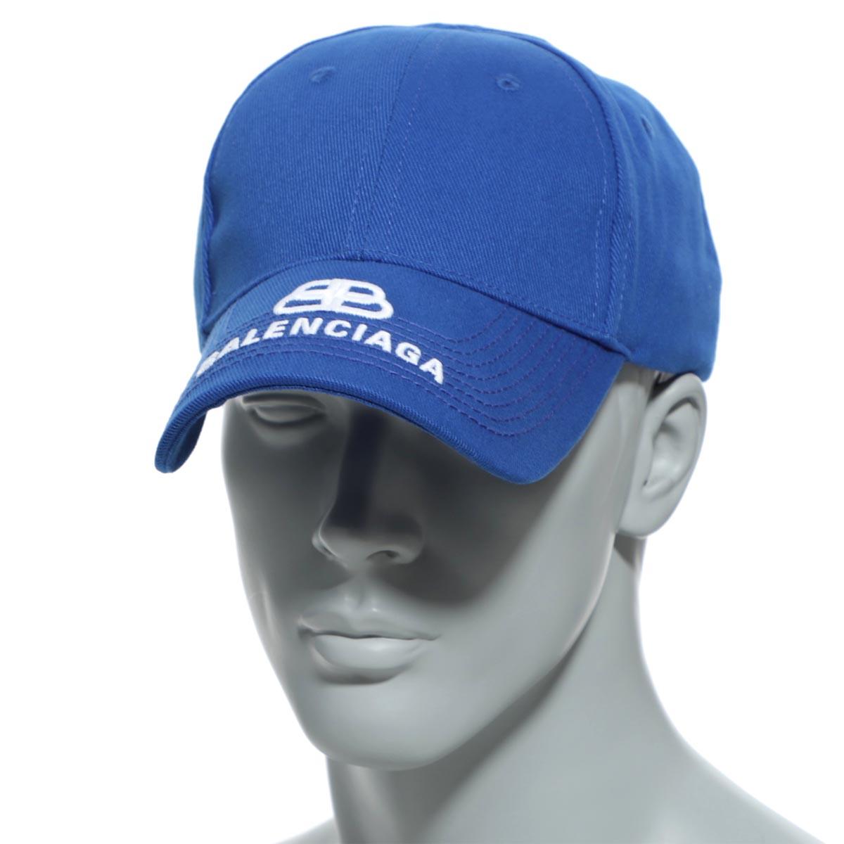 独特な バレンシアガ BALENCIAGA ベースボールキャップ 帽子 ブルー メンズ 577548 410b2 4277 HAT BB VISOR CAP【返品送料無料】【ラッピング無料】, みつあみ 7a6b675c