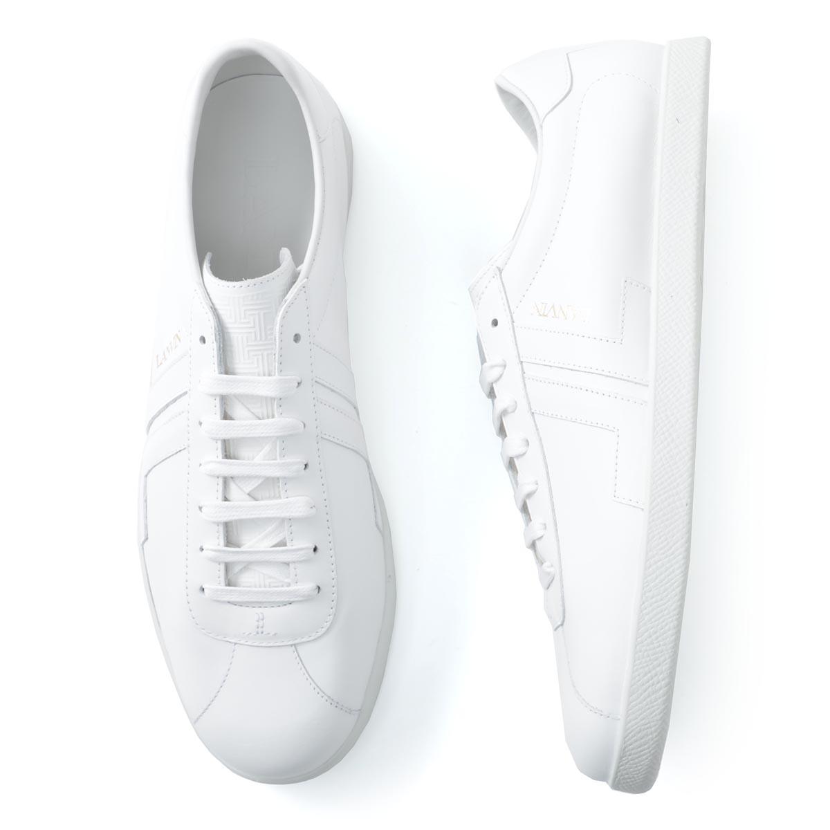 ランバン LANVIN スニーカー ホワイト メンズ シューズ 靴 カジュアル 大きいサイズあり fm skdlon maso p20 00 JL COLOR BLOCK GLEN SNEAKERS【あす楽対応_関東】【返品送料無料】【ラッピング無料】