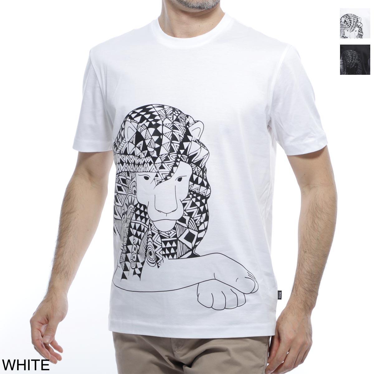 ボスヒューゴボス BOSS HUGOBOSS クルーネックTシャツ メンズ 半袖 コラボ マイセン tiburt 50423048 100 BOSS×MEISSEN TIBURT【あす楽対応_関東】【返品送料無料】【ラッピング無料】