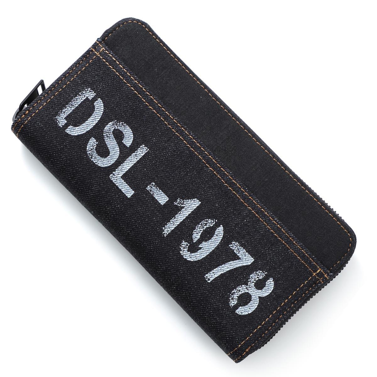 ディーゼル DIESEL ラウンドファスナー 財布 ブルー メンズ ウォレット ギフト プレゼント 24zip x06613 p0184 h1191 24ZIP【あす楽対応_関東】【返品送料無料】【ラッピング無料】