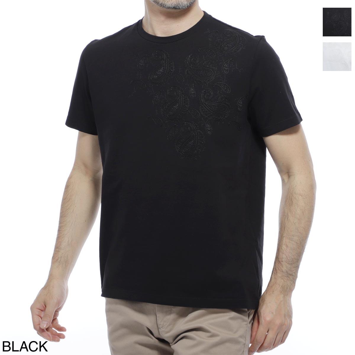 エトロ ETRO クルーネックTシャツ メンズ コットン 綿 半袖 1y020 7902 001【あす楽対応_関東】【返品送料無料】【ラッピング無料】