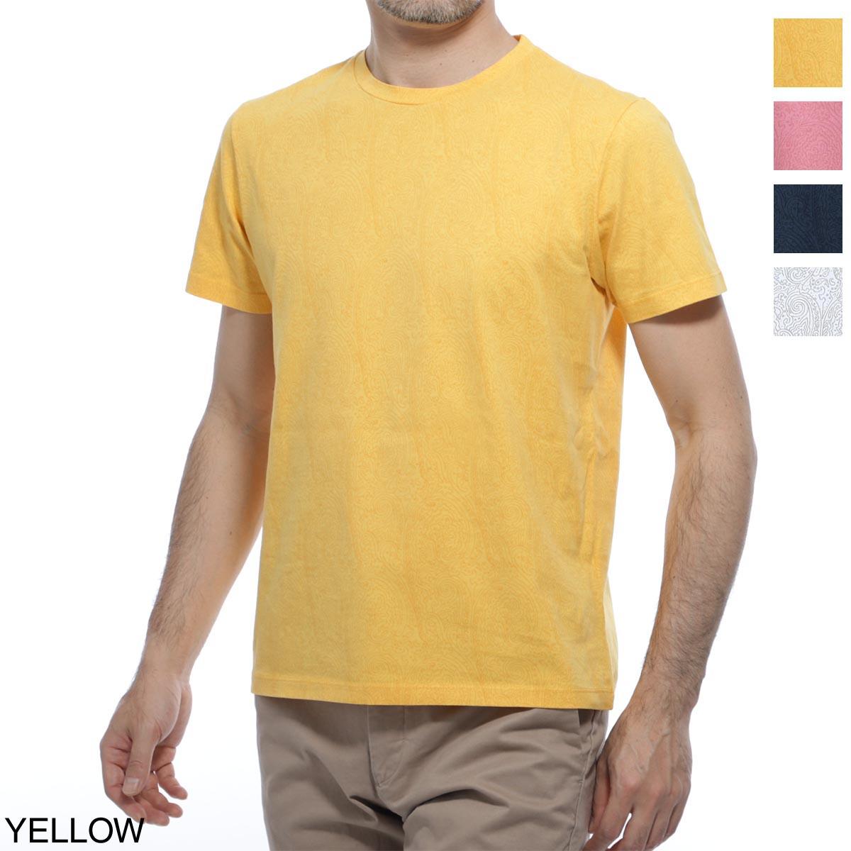 エトロ ETRO クルーネックTシャツ メンズ コットン 綿 半袖 1y020 9245 701【あす楽対応_関東】【返品送料無料】【ラッピング無料】