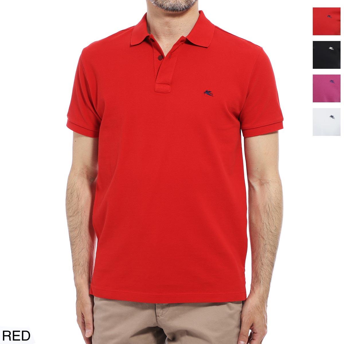 エトロ ETRO ポロシャツ メンズ コットン 綿 半袖 1y140 9240 600 REGULAR FIT【あす楽対応_関東】【返品送料無料】【ラッピング無料】