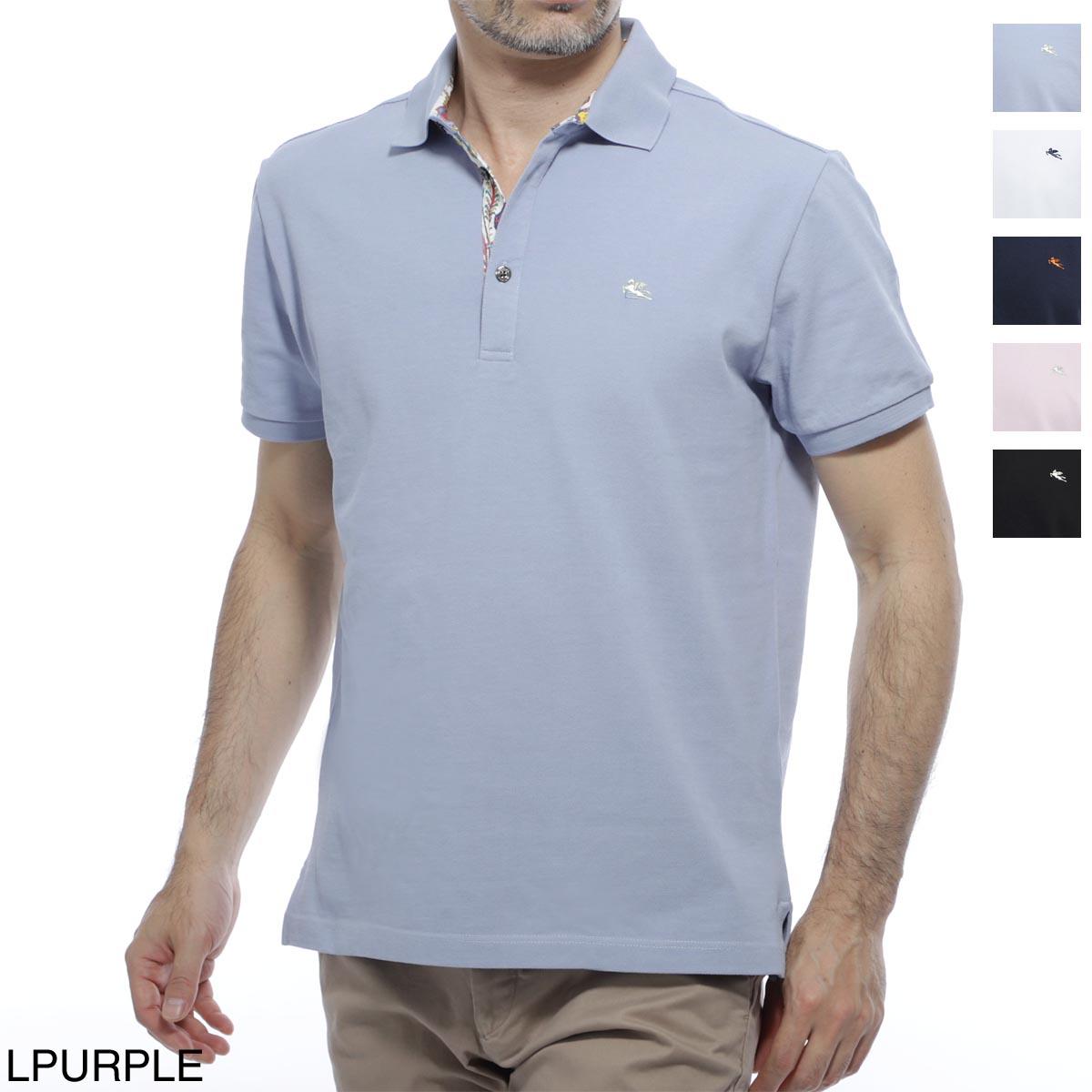 エトロ ETRO ポロシャツ メンズ コットン 綿 半袖 1y142 9240 252 REGULAR FIT【あす楽対応_関東】【返品送料無料】【ラッピング無料】