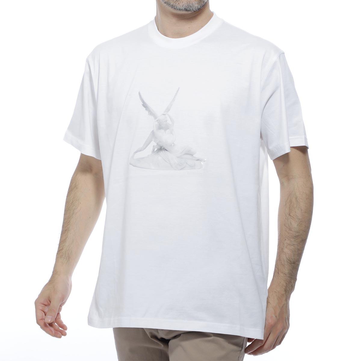 バーバリー BURBERRY クルーネック Tシャツ ホワイト メンズ カジュアル トップス インナー スポーツ 半袖 8024365 white WALLACE ウォレス【あす楽対応_関東】【返品送料無料】【ラッピング無料】