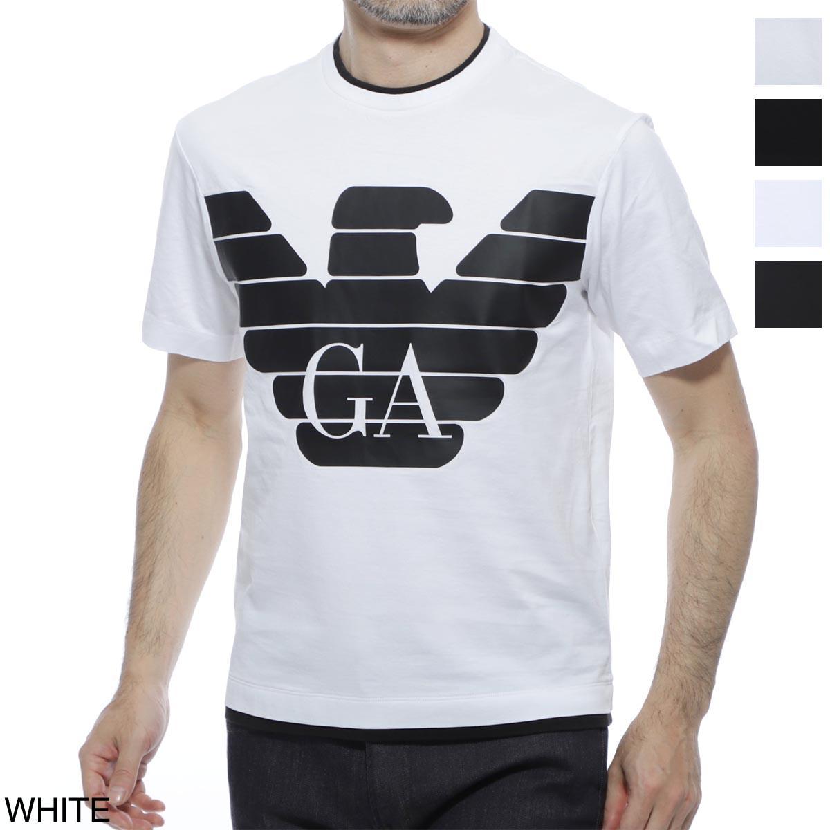 エンポリオアルマーニ EMPORIO ARMANI クルーネック 半袖Tシャツ メンズ Tシャツ コットン 3h1tm0 1jcqz f162【あす楽対応_関東】【返品送料無料】【ラッピング無料】