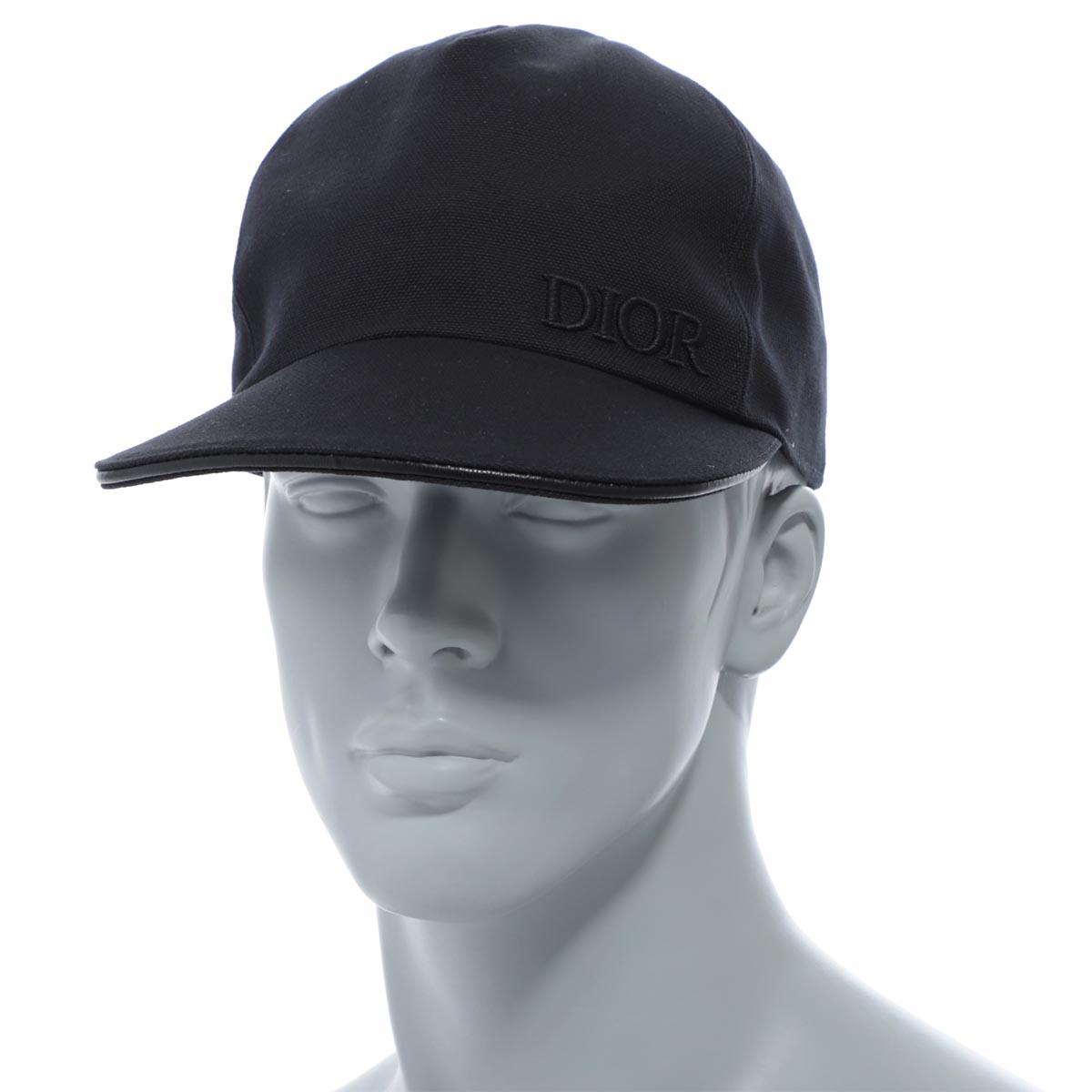 【アウトレット】ディオール DIOR キャップ ブラック メンズ 帽子 933c902d 4511 900 CASQUETTE【あす楽対応_関東】【返品送料無料】【ラッピング無料】