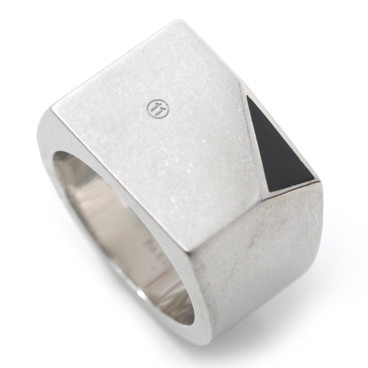 メゾンマルジェラ Maison Margiela リング シルバー メンズ 指輪 s30uq0046 s12645 962 11 女性と男性のためのアクセサリーコレクション【あす楽対応_関東】【返品送料無料】【ラッピング無料】